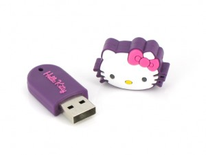 "Dane-Elec - Hello Kitty ""Cat Head"""