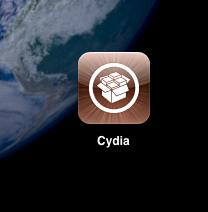 icône Cydia sur l'iPad